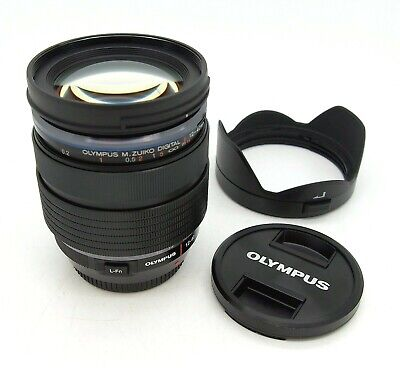 Stunning Olympus 12-40mm F2.8 Pro Micro 4/3rds Lens, Mint, Pouch, Hood, Caps