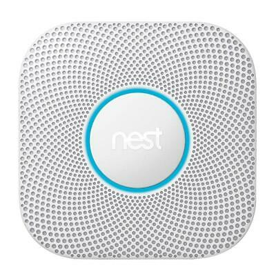 Google Nest Protect Wired Smoke and Carbon Monoxide Detector w/ Advanced