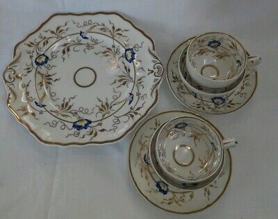 Antique 19th century early english china victorian/Georgian - tea for 2