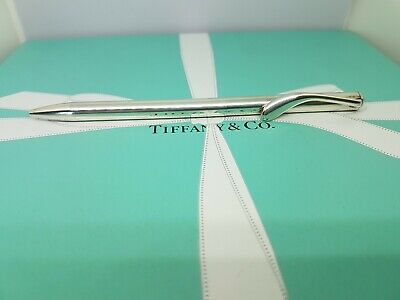 Authentic Tiffany & Co Elsa Peretti Ballpoint Pen. Silver 925. RRP £120