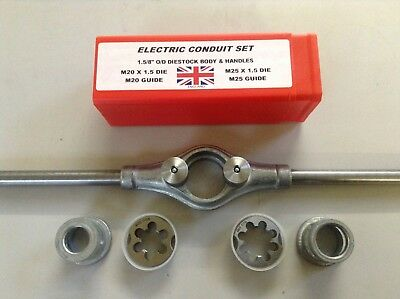 M20 & M25 Electric Conduit Set/Dies/Guides/Body/Handles