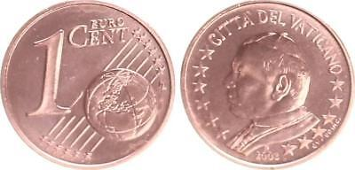 Vatican 1 Cent 2003 Currency Coin with Papstmotiv Mint State