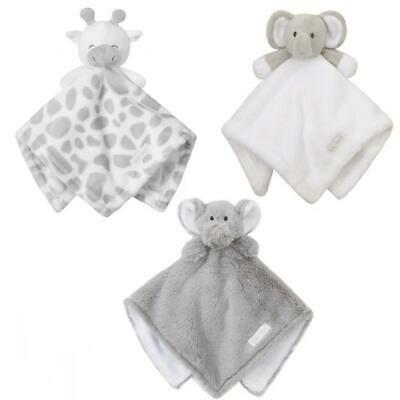 Boys & Girls Baby Toddler Super Soft Animal Toy Comforter Security Blanket