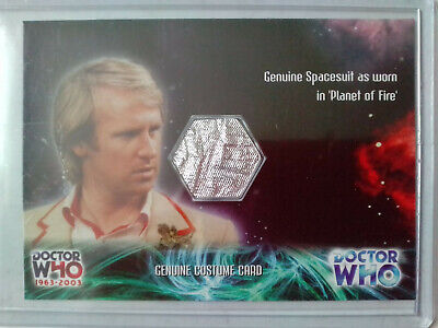 Doctor Who 1963-2003 : 40th Anniversary Costume Card CC2 Spacesuit (Silver) 2003