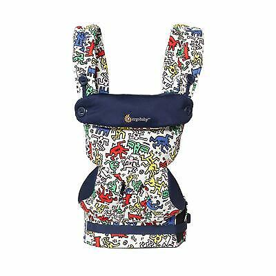 Ergobaby 360 4 Position Baby Carrier, Keith Haring Pop, New in Box