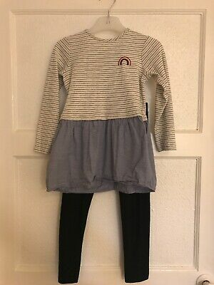 TU GIRLS LEGGINGS AND TOP SET 4-5 Years Great Condition