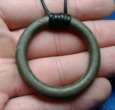 Celtic Bronze Ring Amulet Pendant 5th-1st cent BC.