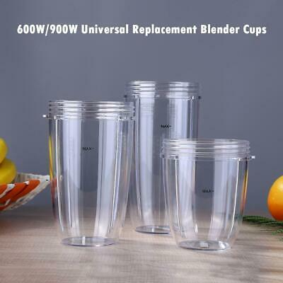 600W/900W Large Universal Replacement for Nutribullet Blender Cups Mug Cup