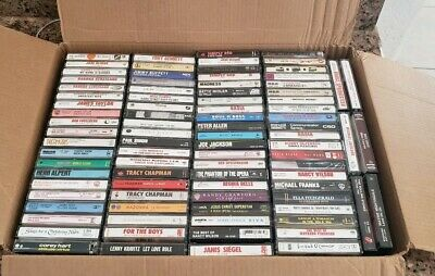 Cassette Lot Of 86 Tapes ( Pop Rock Alternative All Gengres 80'S 90'S )