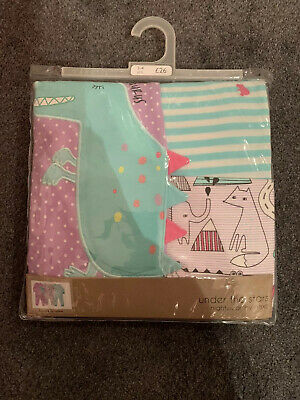 Next Girls 3 Pack Of Pyjamas Age 3-4 Years Brand New
