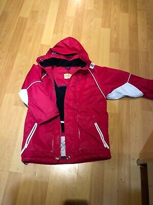 Girls Winter Waterproof Jacket Coat 5-6y Good Condition