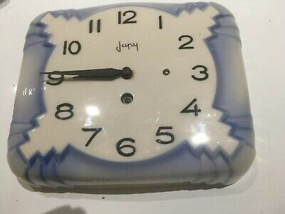 Vintage Japy Ceramic French Clock
