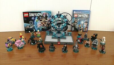 Lego Dimensions PS4 starter pack bundle Back to Future, Simpsons, Bane, Lord