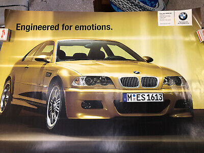 BMW M3 Original Showroom Poster