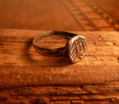 Stunning Romano Celtic Engraved Ring-Metal Detecting Find