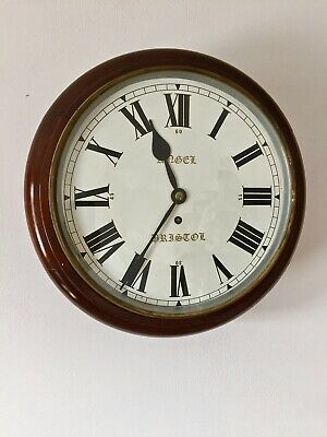 Station  Wall Clock (LCC) Fusee movement