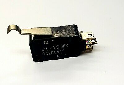 SPDT- ON- Mulon VM-22PDM3 ON Simulated Roller Lever micro switch 10A @ 250 V AC
