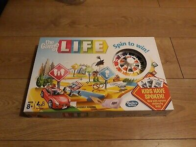 hasbro games the game of life spin to win