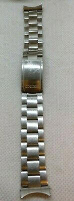 VINTAGE SEIKO STAINLESS STEEL WATCH STRAP 20mm LUG FIT