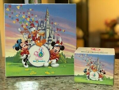 Walt Disney World 20th Anniversary DECORATIVE PLATE & MUG 1971-91 Disneyana