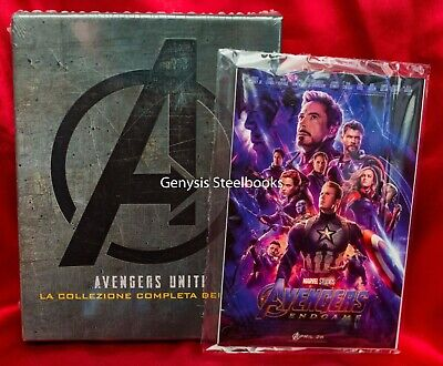AVENGERS 1-4 [Blu-ray Box Set] The Complete 4-Movie + End Game Art Cards*