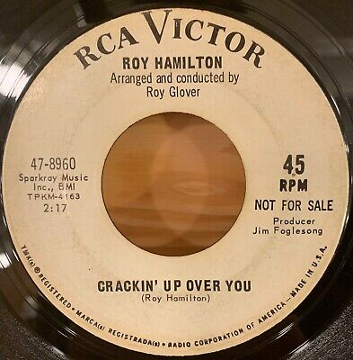 Northern Soul 45 Roy Hamilton - Crackin Up Over You Rca Victor Promo Hear It!