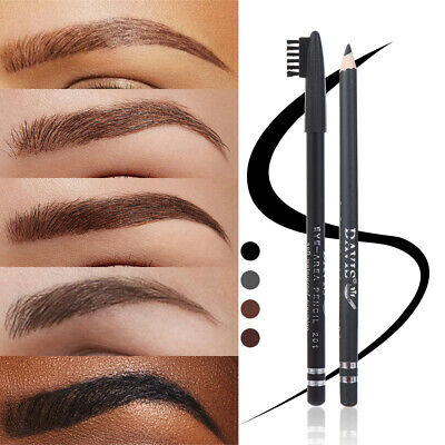 Long Lasting Brow Liner Pen Fluent Eyebrow Pencil Double Head with brush