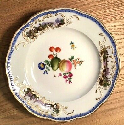 Set of Stunning 9 Antique 19th Century Meissen Porcelain Plates