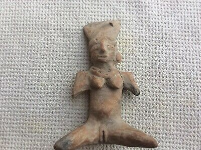 ANCIENT PRE COLUMBIAN EFFIGY Nayarit Woman