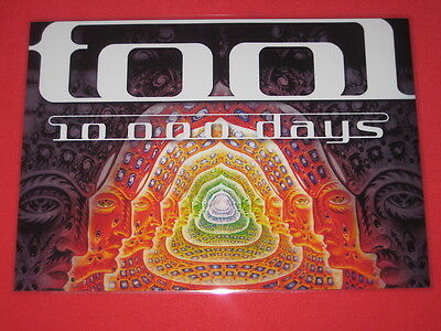 Tool - 10000 Days  - Laminated Promo Poster