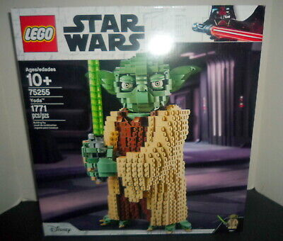 New LEGO Star Wars 75255 Yoda Building Model Collectible Minifigure 1771 Pieces