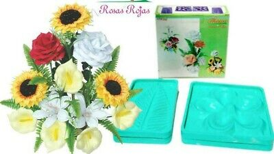 Flower Molds 3D KIT Foam Craft Moldes de Flores Foamy Eva foam MODEL ROSA