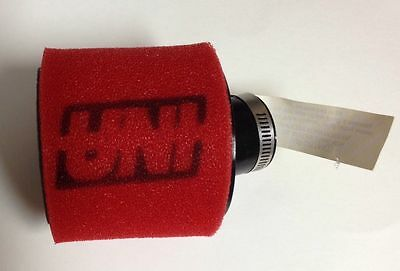 """Uni Universal Angled 2 Stage Pod Air Filter Fits 1"""" Free Shipping!"""