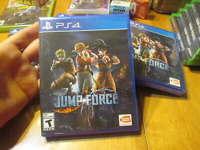 Jump Force PS4 Sony BRAND NEW FACTORY SEALED GOKU NARUTO ONE PIECE +++ MANGAS