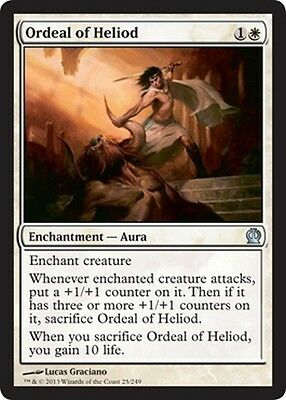 4x Heliod/'s Emissary MTG Magic Theros THS x4