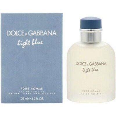 Light Blue By Dolce & Gabbana 4.2 oz / 125 ml Men's Eau De Toilette NEW & SEALED