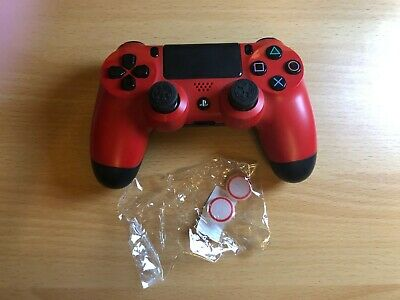 Official PS4 Playstation 4 Dualshock Controller - Wireless Bluetooth - Red