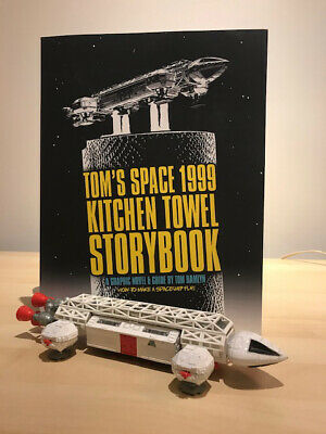 The Space 1999 Eagle Story + Make a Display Stand for Sixteen12 & Dinky Eagles