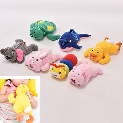 Cute Baby Kids Cartoon Feeding Bottles Bag Lovely Milk Bottle Pouch Cover Toy JF