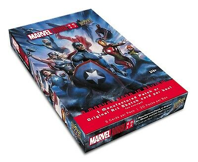 Marvel Annual Trading Cards Box (Upper Deck 2017)  MARVEL TRADING CARDS BOX