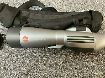 Leica Televid 77 with 20-60x zoom eyepiece - used