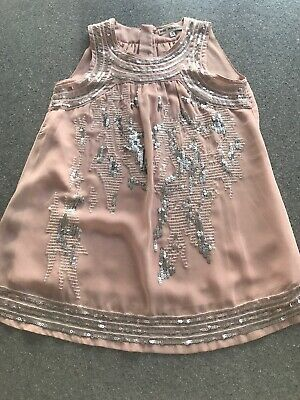 Girls Marks And Spencer Autograph Part Top Age 8