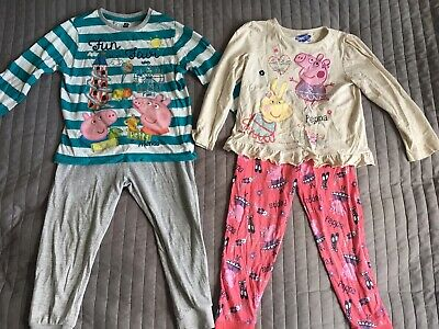 Peppa Pig Girls Pyjamas 2-pack 3-4 years