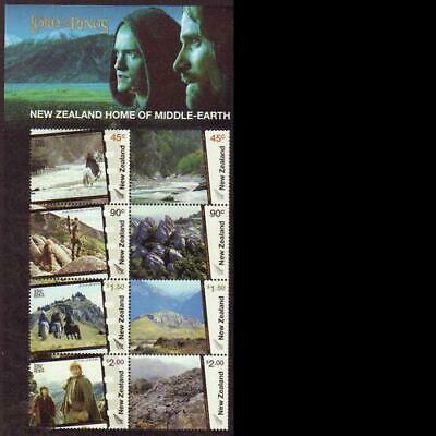 New Zealand 2004 MNH MUH M/S - Lord of the Rings New Zealand Home Middle-Earth.