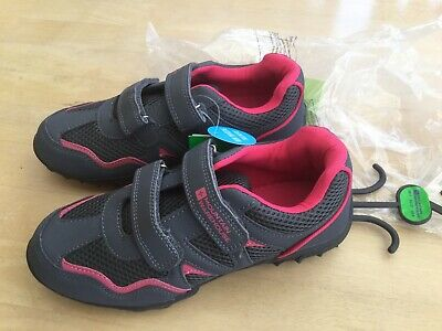 Mountain Warehouse Non Marking Size 5 Grey & Pink Trainers.                    d
