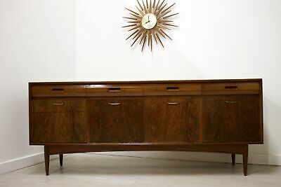DELIVERY £60 Mid Century Retro Rosewood and Afromosia White and Newton Sideboard