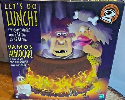 Let's Do Lunch Cannibals Board Game Complete Hasbro 2 Players Couples
