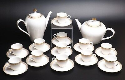 26 Piece Royal Hartford Argentina Tea/Coffee Set with Demitasse Cups and Saucers