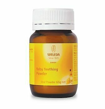 Weleda Baby Teething Powder - Oral Powder 60g x 6