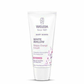 Weleda White Mallow Nappy Change Cream 50ml x 8
